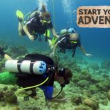 Stagehuis Curacao, Free Discover Scuba Dive